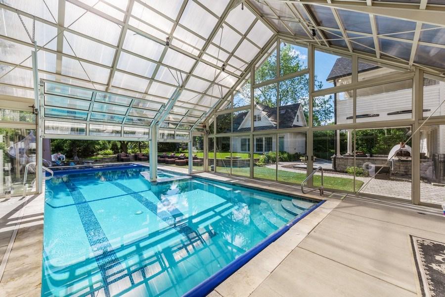 Real Estate Photography - 6012 Sedgley Ct, Burr Ridge, IL, 60527 - Pool