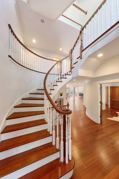 Real Estate Photography - 6012 Sedgley Ct, Burr Ridge, IL, 60527 - Foyer