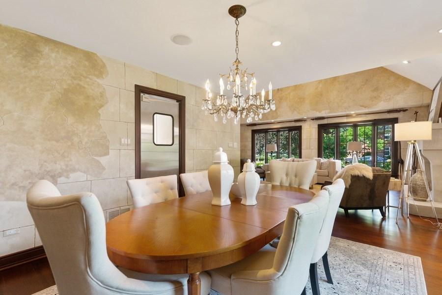 Real Estate Photography - 6012 Sedgley Ct, Burr Ridge, IL, 60527 - Dining Room