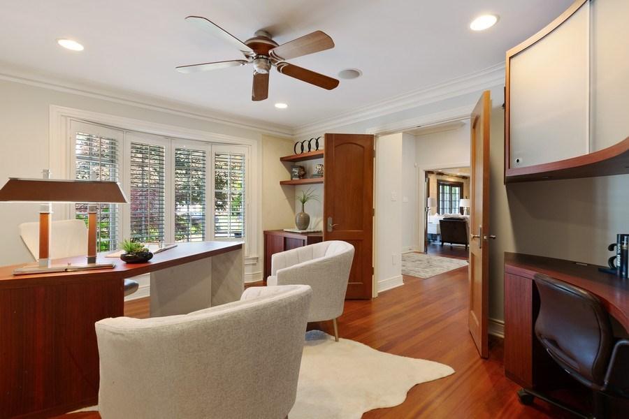 Real Estate Photography - 6012 Sedgley Ct, Burr Ridge, IL, 60527 - Den