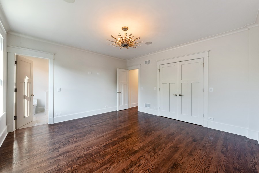 Real Estate Photography - 2342 W Melrose St, Chicago, IL, 60618 - Master Bedroom