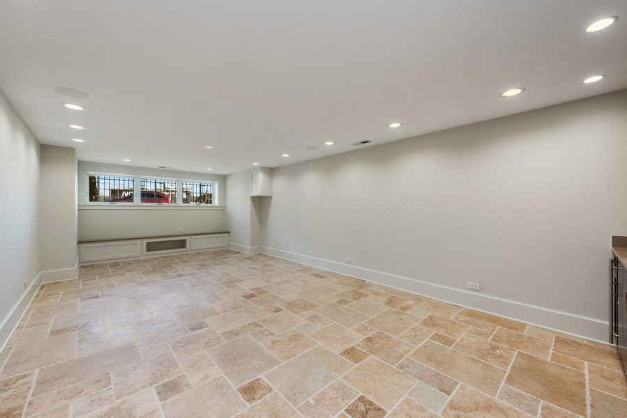 Real Estate Photography - 2342 W Melrose St, Chicago, IL, 60618 - Recreational Room