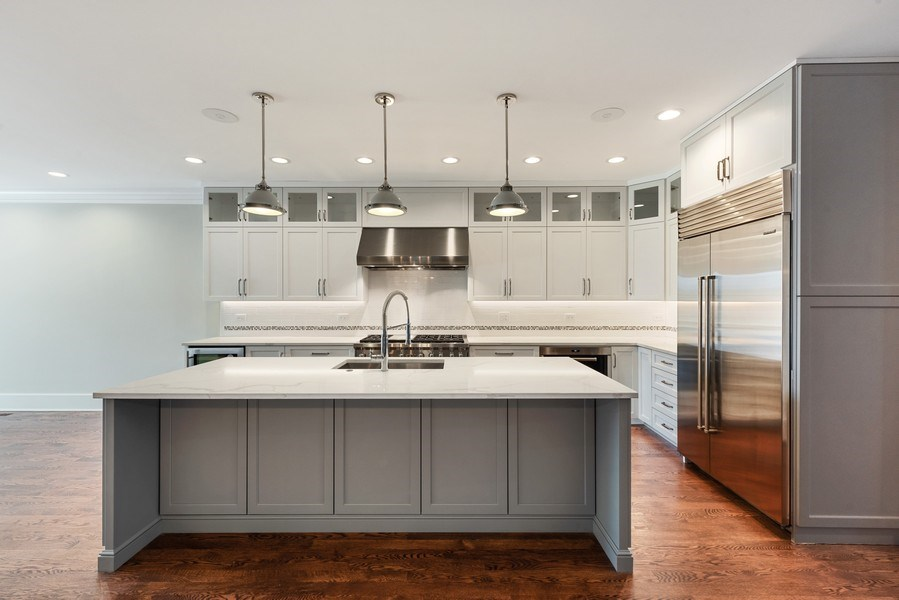 Real Estate Photography - 2342 W Melrose St, Chicago, IL, 60618 - Kitchen