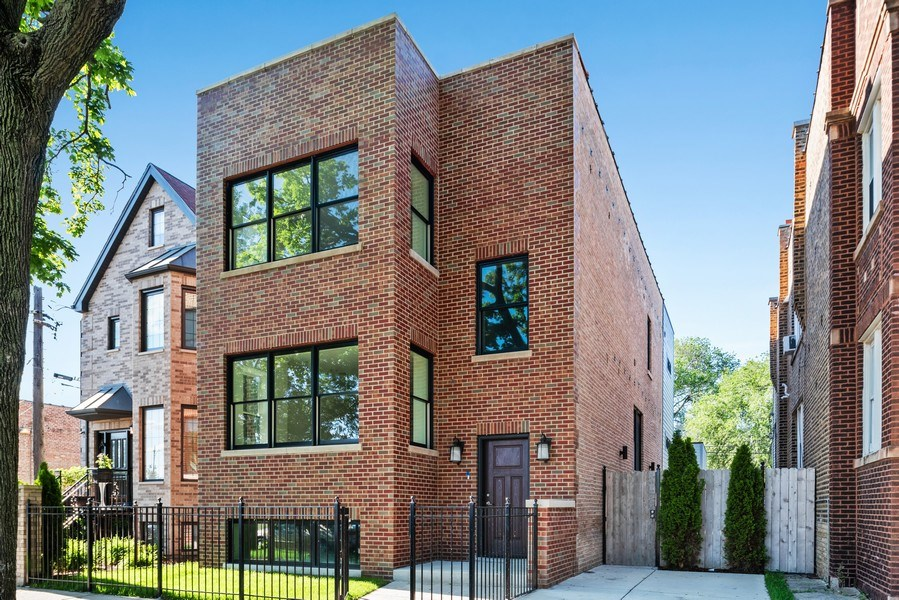 Real Estate Photography - 2342 W Melrose St, Chicago, IL, 60618 - Front View