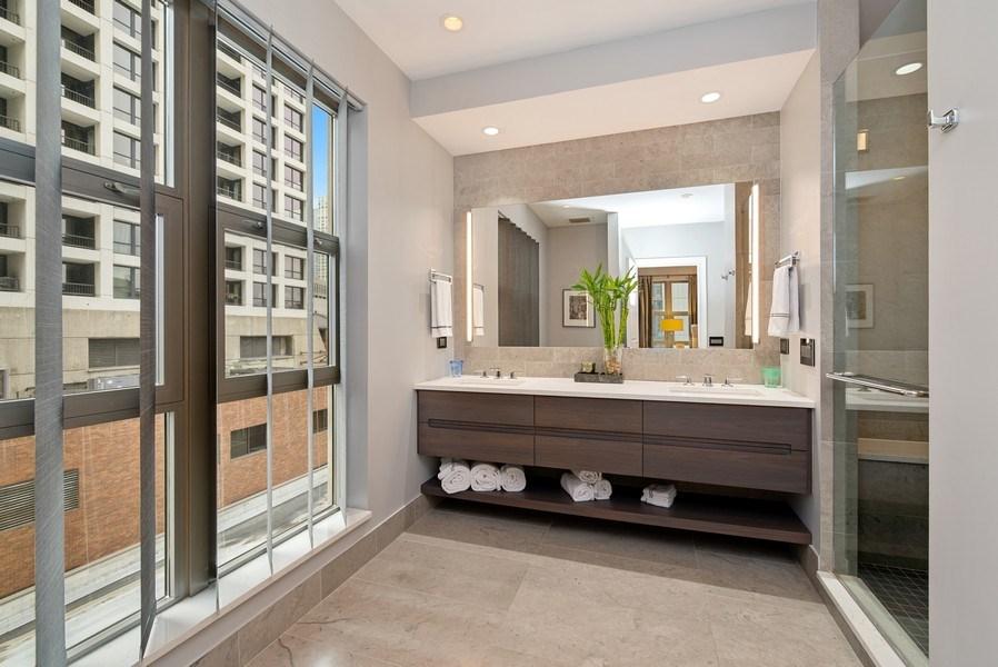Real Estate Photography - 1035 N Dearborn #6E, Chicago, IL, 60610 - Master Bathroom