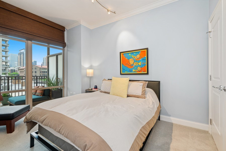 Real Estate Photography - 1035 N Dearborn #6E, Chicago, IL, 60610 - 2nd Bedroom