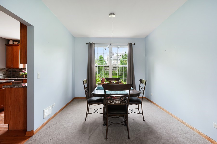 Real Estate Photography - 804 Auburn Ln, Lindenhurst, IL, 60046 - Dining Room