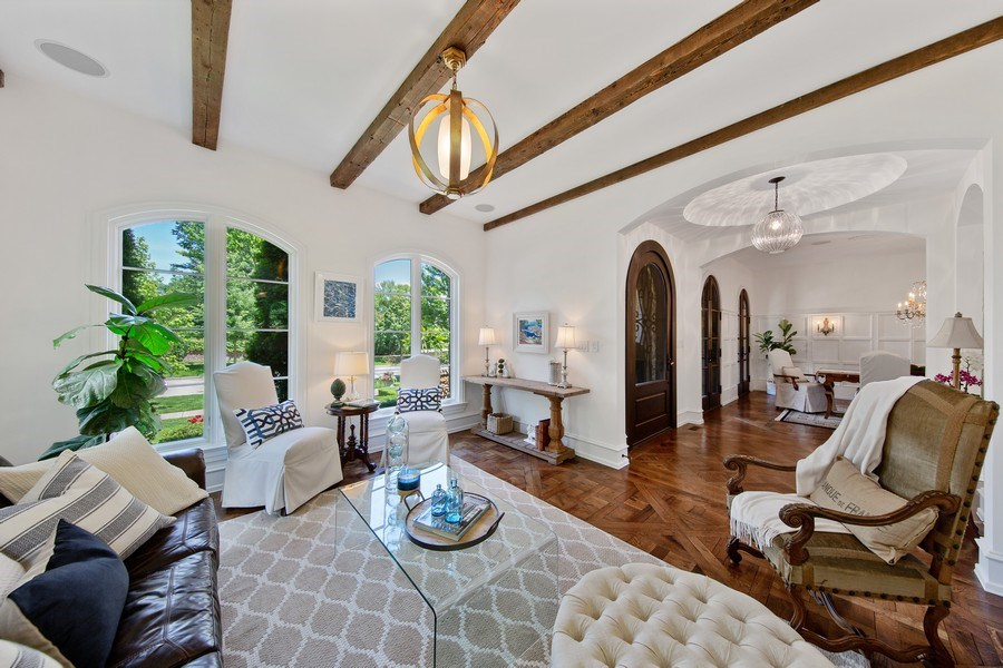 Real Estate Photography - 618 S Park Ave., Hinsdale, IL, 60521 - Living Room