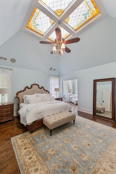 Real Estate Photography - 618 S Park Ave., Hinsdale, IL, 60521 - Master Bedroom