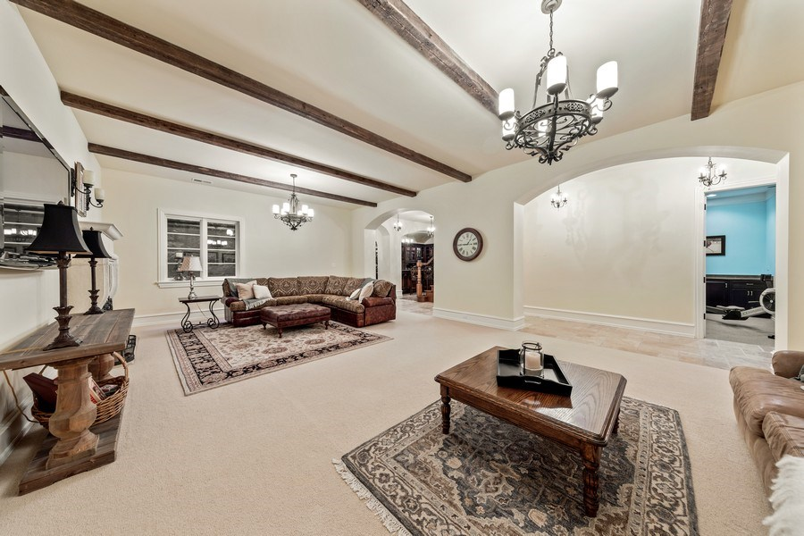 Real Estate Photography - 618 S Park Ave., Hinsdale, IL, 60521 - Recreation Room (Lower Level)