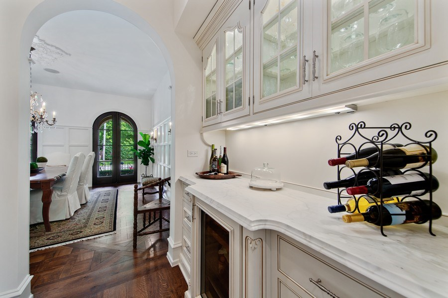 Real Estate Photography - 618 S Park Ave., Hinsdale, IL, 60521 - Butler's pantry