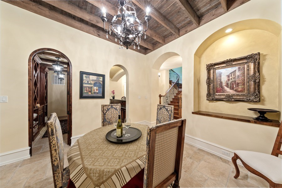 Real Estate Photography - 618 S Park Ave., Hinsdale, IL, 60521 - Wine Cellar