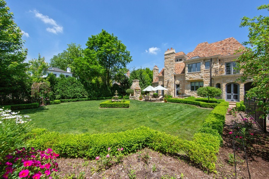 Real Estate Photography - 618 S Park Ave., Hinsdale, IL, 60521 - Back Yard