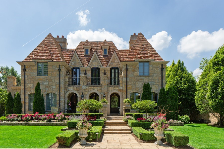 Real Estate Photography - 618 S Park Ave., Hinsdale, IL, 60521 - Front View