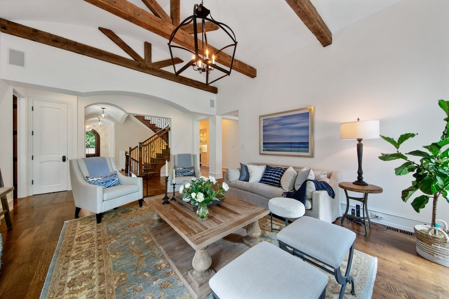 Real Estate Photography - 618 S Park Ave., Hinsdale, IL, 60521 - Family Room