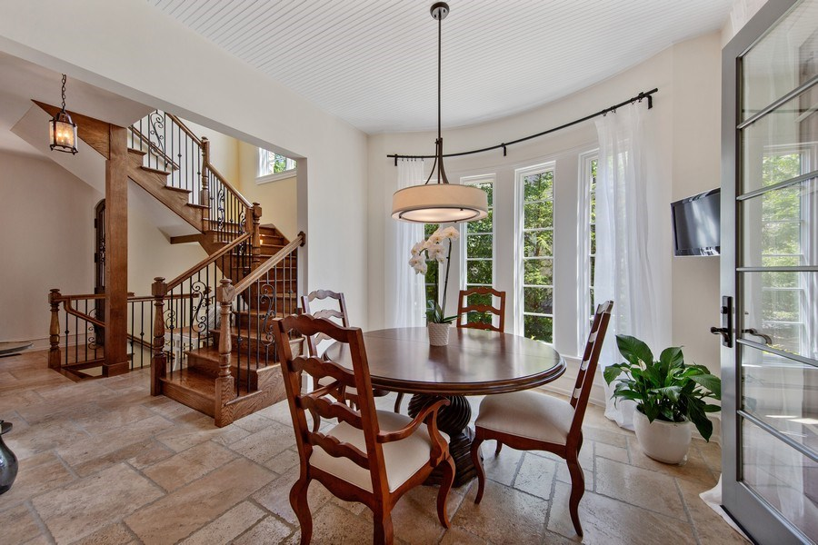 Real Estate Photography - 618 S Park Ave., Hinsdale, IL, 60521 - Breakfast Area
