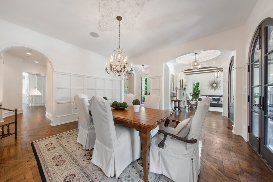 Real Estate Photography - 618 S Park Ave., Hinsdale, IL, 60521 - Dining Room