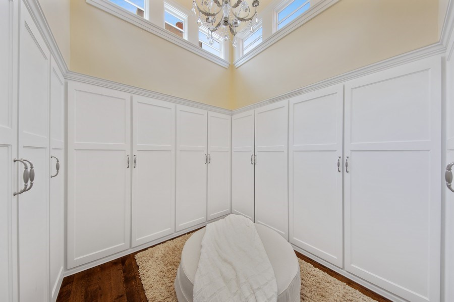 Real Estate Photography - 618 S Park Ave., Hinsdale, IL, 60521 - Master Bedroom Closet