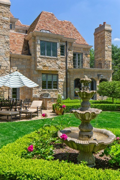 Real Estate Photography - 618 S Park Ave., Hinsdale, IL, 60521 - Rear View
