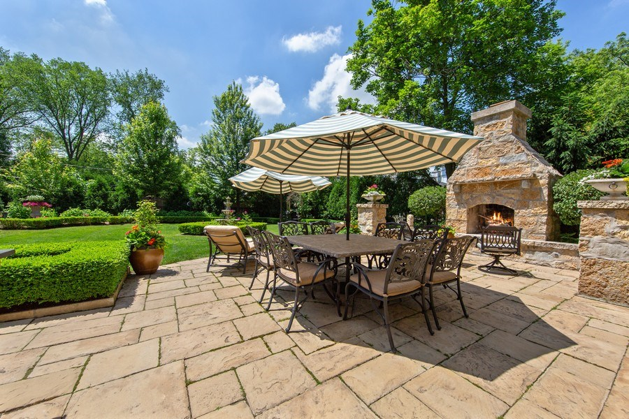 Real Estate Photography - 618 S Park Ave., Hinsdale, IL, 60521 - Patio