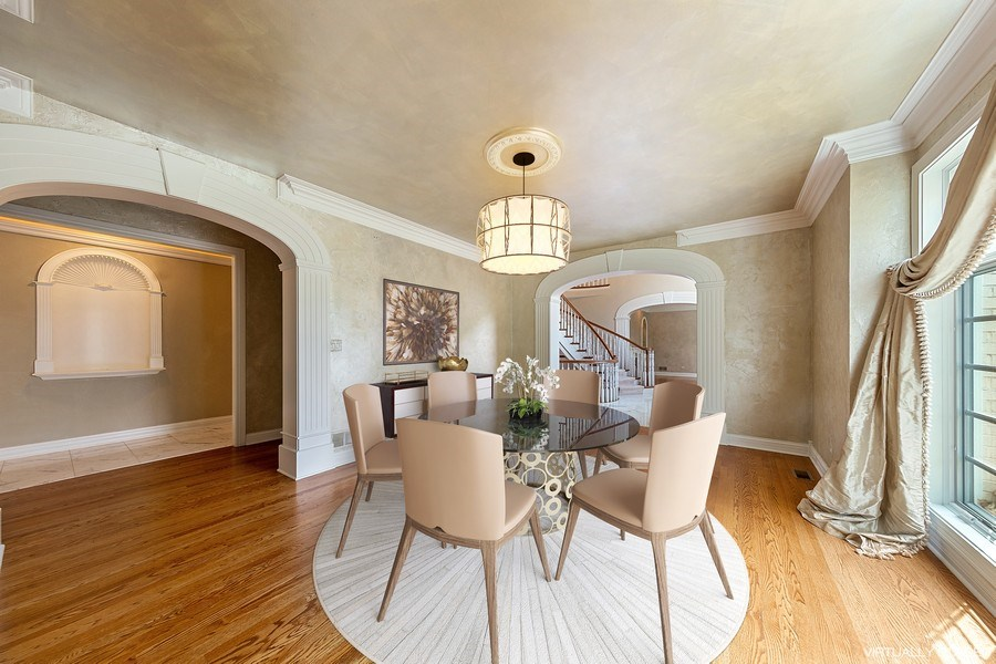 Real Estate Photography - 501 Ambriance Dr, Burr Ridge, IL, 60527 - Dining Room