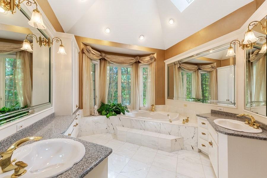 Real Estate Photography - 501 Ambriance Dr, Burr Ridge, IL, 60527 - Master Bathroom