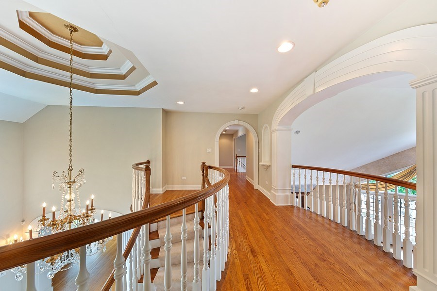 Real Estate Photography - 501 Ambriance Dr, Burr Ridge, IL, 60527 - 2nd Floor Corridor