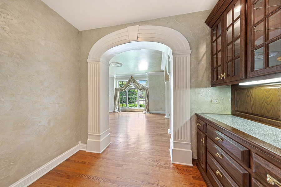 Real Estate Photography - 501 Ambriance Dr, Burr Ridge, IL, 60527 - Butler's pantry