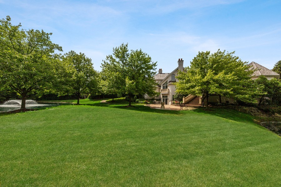 Real Estate Photography - 501 Ambriance Dr, Burr Ridge, IL, 60527 - Back Yard