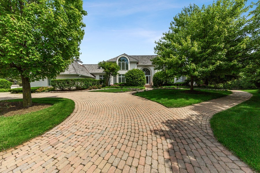 Real Estate Photography - 501 Ambriance Dr, Burr Ridge, IL, 60527 - Front View