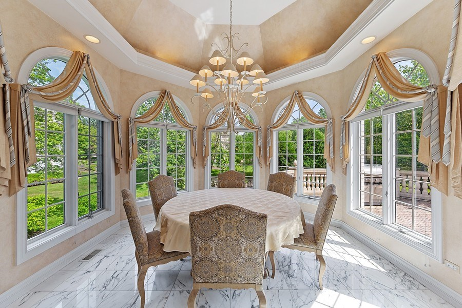 Real Estate Photography - 501 Ambriance Dr, Burr Ridge, IL, 60527 - Breakfast Area