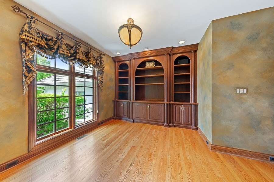 Real Estate Photography - 501 Ambriance Dr, Burr Ridge, IL, 60527 - Den