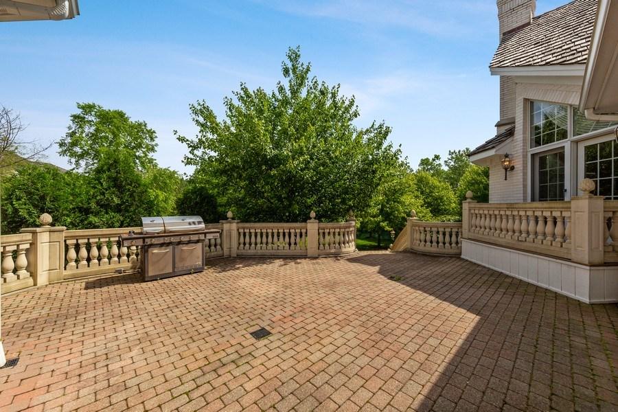 Real Estate Photography - 501 Ambriance Dr, Burr Ridge, IL, 60527 - Deck