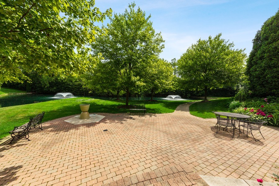 Real Estate Photography - 501 Ambriance Dr, Burr Ridge, IL, 60527 - Patio