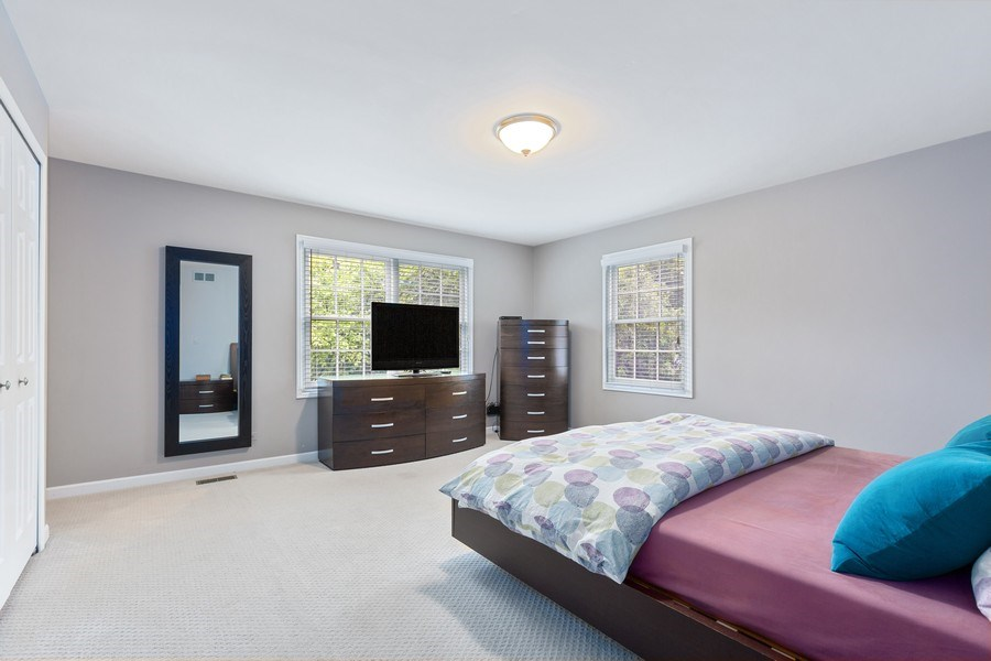 Real Estate Photography - 305 Columbine Drive, Clarendon Hills, IL, 60514 - Master Bedroom