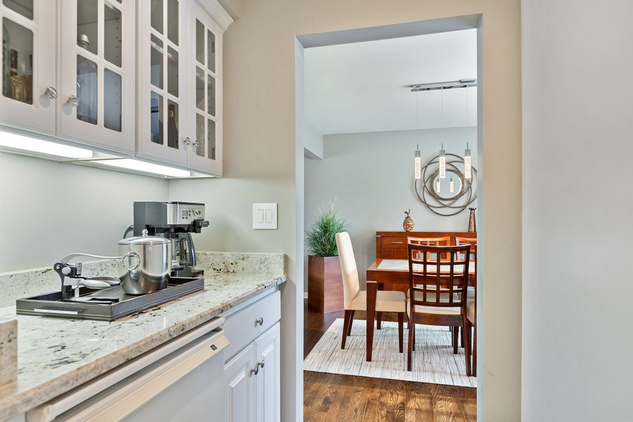 Real Estate Photography - 305 Columbine Drive, Clarendon Hills, IL, 60514 - Butler's pantry