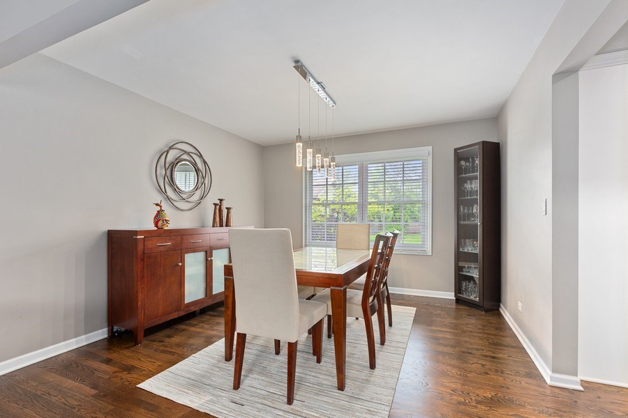 Real Estate Photography - 305 Columbine Drive, Clarendon Hills, IL, 60514 - Dining Room