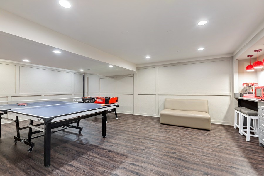 Real Estate Photography - 305 Columbine Drive, Clarendon Hills, IL, 60514 - Game Area
