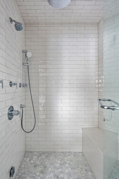 Real Estate Photography - 4102 N Oakley, Chicago, IL, 60618 - Master Bathroom