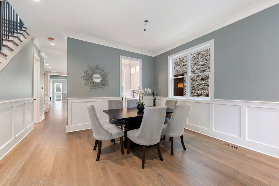 Real Estate Photography - 4102 N Oakley, Chicago, IL, 60618 - Dining Room