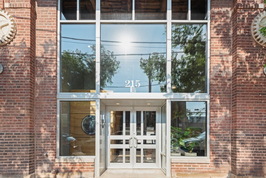 Real Estate Photography - 215 N. Aberdeen Unit 311A, Chicago, IL, 60607 - Entrance