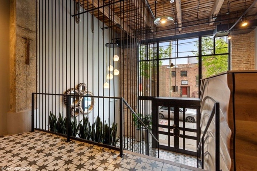 Real Estate Photography - 215 N. Aberdeen Unit 311A, Chicago, IL, 60607 - Building Entryway