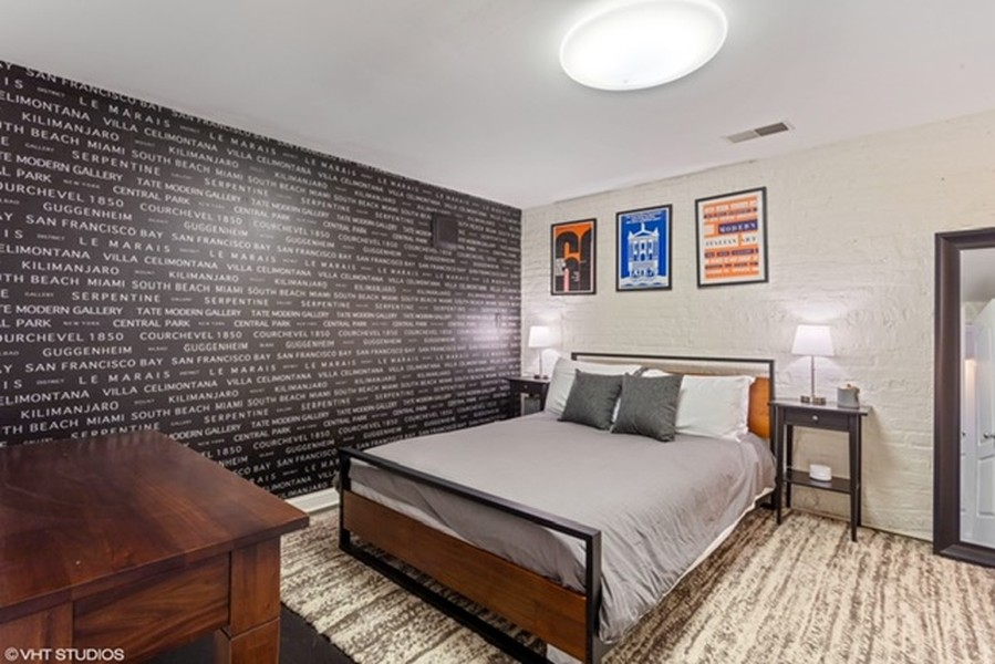 Real Estate Photography - 215 N. Aberdeen Unit 311A, Chicago, IL, 60607 - 2nd Bedroom Suite