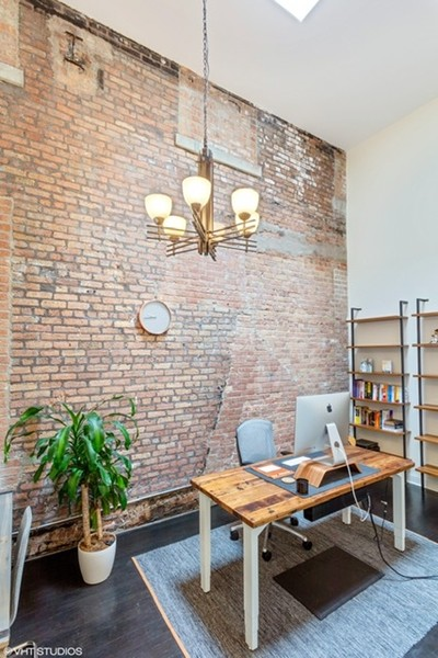 Real Estate Photography - 215 N. Aberdeen Unit 311A, Chicago, IL, 60607 - 3rd Bedroom