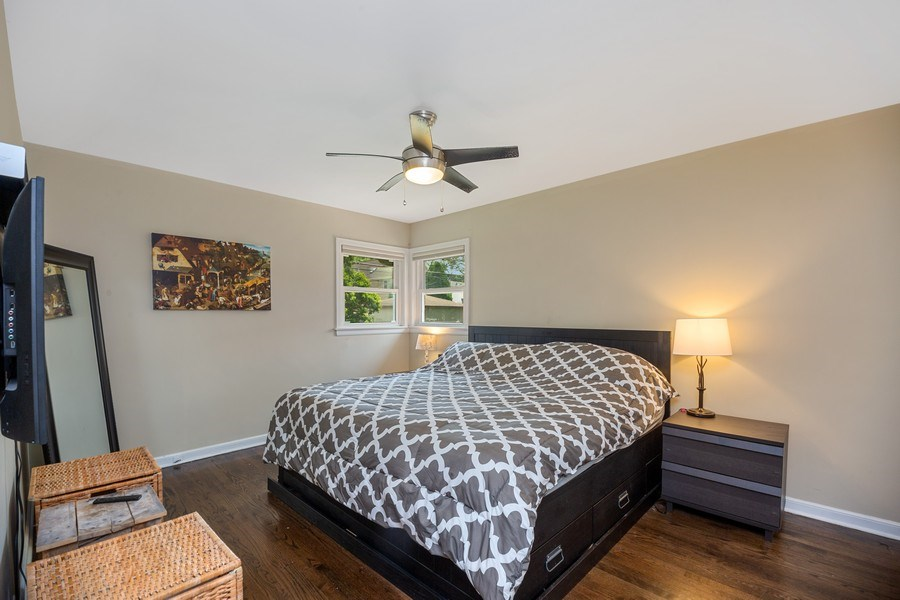 Real Estate Photography - 1513 Hoffman Ave, Park Ridge, IL, 60068 - Master Bedroom