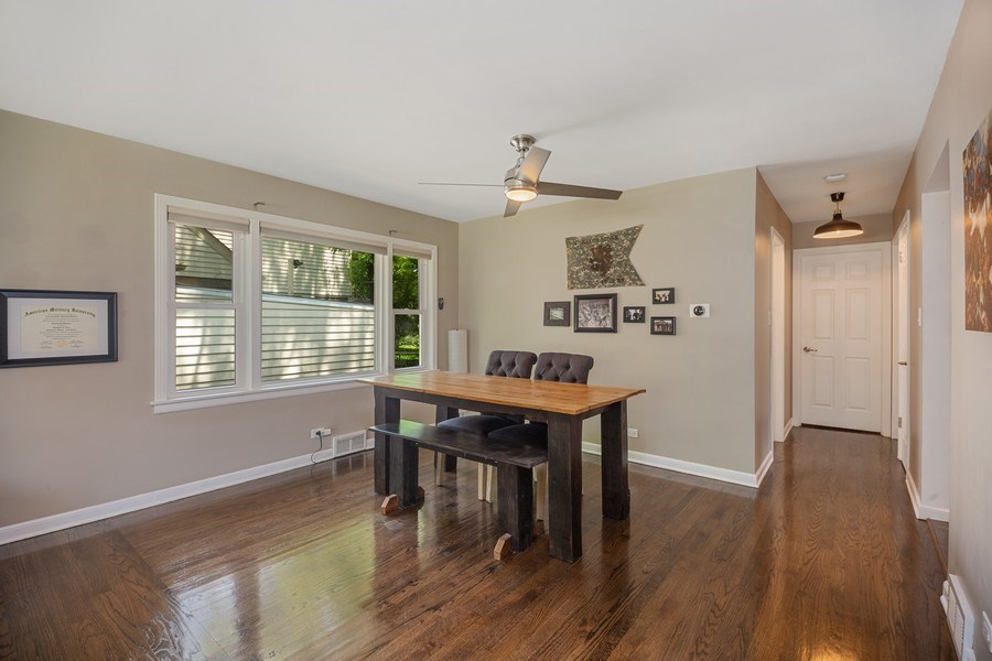 Real Estate Photography - 1513 Hoffman Ave, Park Ridge, IL, 60068 - Dining Room