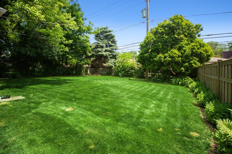 Real Estate Photography - 1513 Hoffman Ave, Park Ridge, IL, 60068 - Back Yard