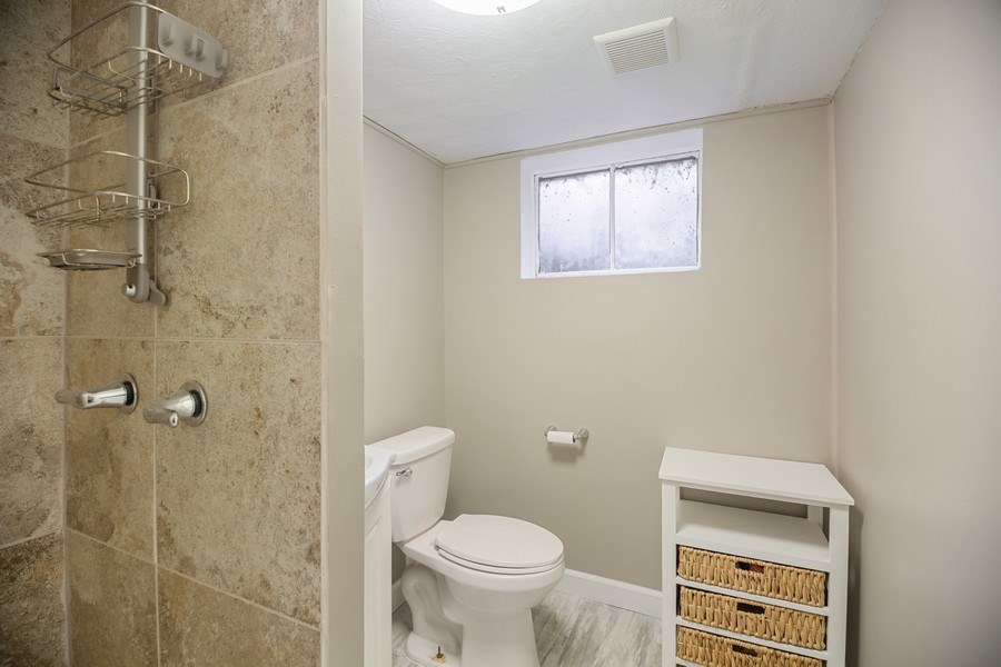 Real Estate Photography - 1513 Hoffman Ave, Park Ridge, IL, 60068 - 2nd Bathroom