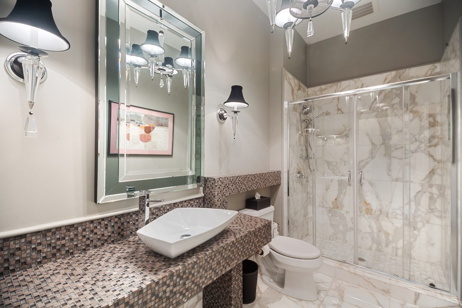 Real Estate Photography - 50 N Northwest Hwy, 208, Park Ridge, IL, 60068 - 3rd Bathroom