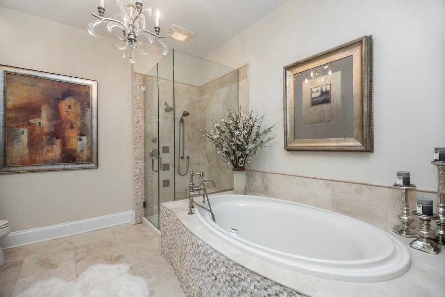 Real Estate Photography - 50 N Northwest Hwy, 208, Park Ridge, IL, 60068 - Master Bathroom